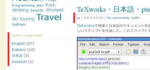 language tagging