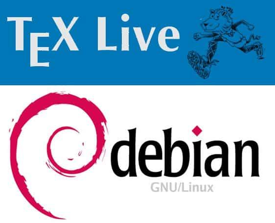 TeX Live/Debian
