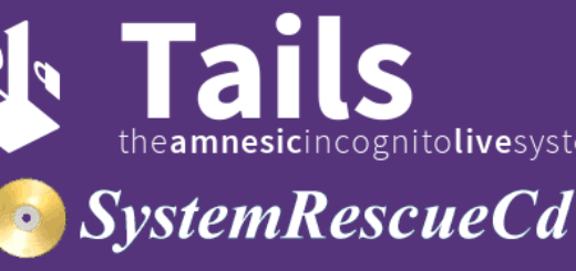 USB stick with Tails and SystemRescueCD – There and back again