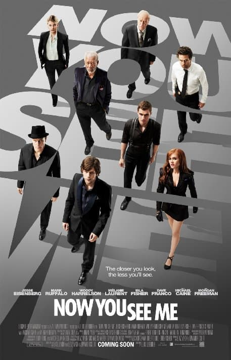 Movie: Now You See Me – There and back again