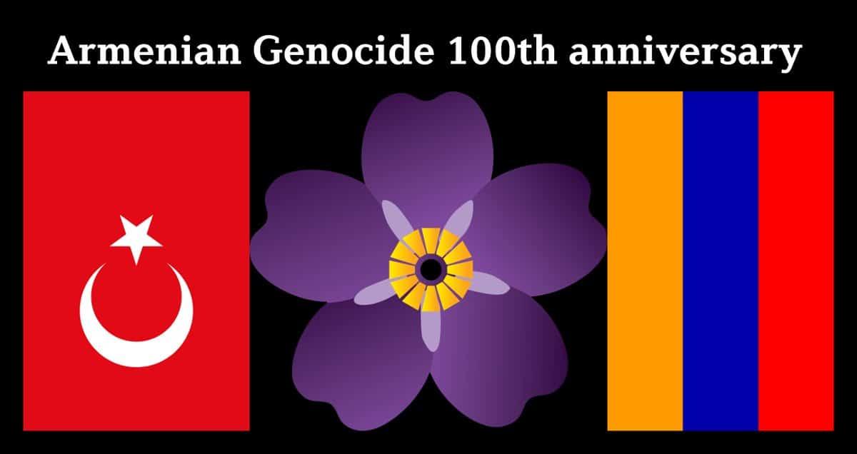 Armenian Genocide 100th anniversary