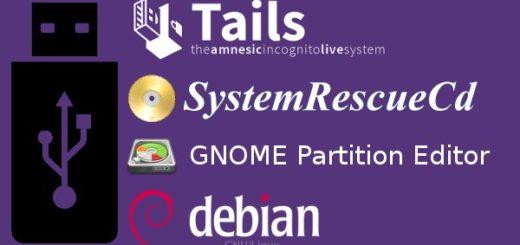 USB stick update: TAILS 1 4, GParted 0 22, SysResCD 4 5 2, Debian