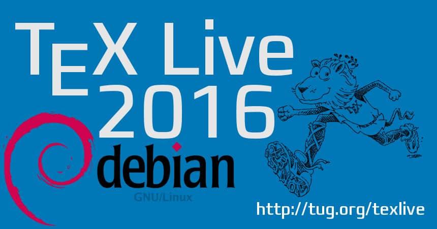 texlive2016-debian
