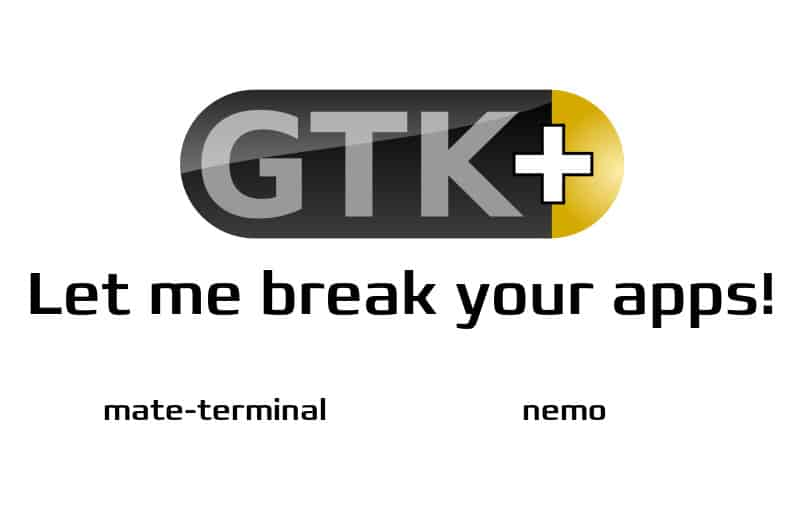 Fixing packages for broken Gtk3 – There and back again