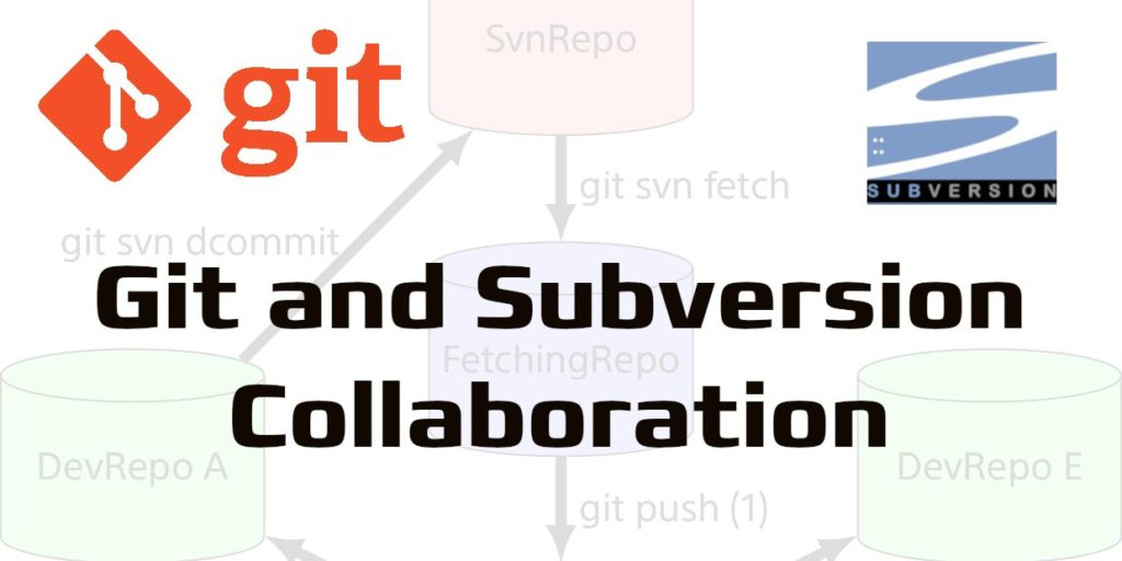 Git and Subversion collaboration – There and back again