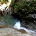 canyoning-jump -- A scary 7m jump into a pool