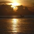 sunset on one of the Ishigaki beaches