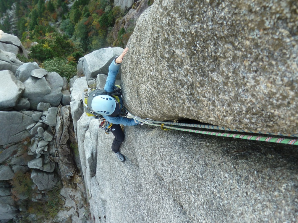 Masumi still trying to come up the upper crack