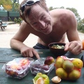 2012-09-28 005.JPG -- I took loads of fruits with me, a bit of luxury is necessary.