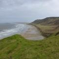 P1000758.JPG -- Rhossili beach on the tip of the Gower peninsula
