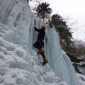 P1000670.JPG -- Me climbing another line.