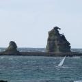 P1000909.JPG -- Surfers enjoying the strong wind
