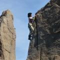 P1010295.JPG -- Sunny ridge on perfect rock