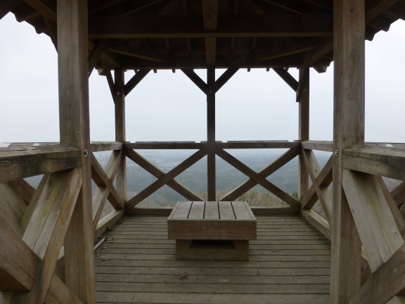 Lookout post, and rain shelter