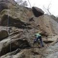 P1010711.JPG -- Climbing up an interesting route
