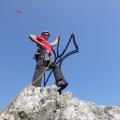 P1010850.JPG -- Florian posing on top of the pinnacle