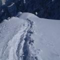 2013-05-05 048.JPG -- Although much easier, also the Hayatsuki-Ridge has steep passages