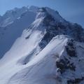 2013-05-05 050.JPG -- The upper part of the Hayatsuki Ridge
