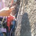 P1020481.JPG -- Masumi training artif climbing in the center crack