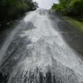 P1030472.JPG -- The big central waterfall 簑谷大滝