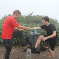 IMG_3445.JPG -- Balance training on a land survey point - how inpious