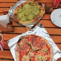 IMG_3465.JPG -- Two excellent pizzas, very crispy dough, nice taste