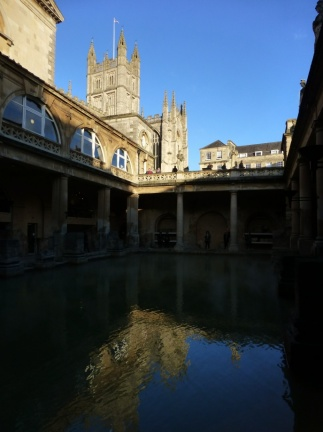 Roman bath and Cathedral