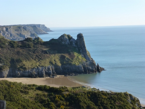 Gower Peninsula – Oxwich Bay and Worm's Head – There and ...