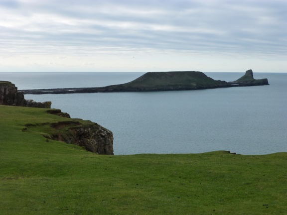 Worms Head - our aim for the second day