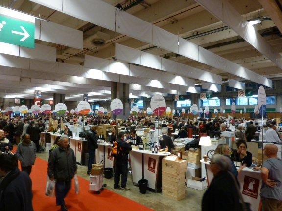 Salon des vins des vignerons ind pendants paris there for Salon des vins independants