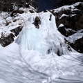 2014-01-13 018.JPG -- One of the easy falls on the way, most of them I climbed without rope