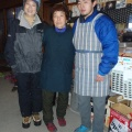 2014-01-13 052.JPG -- Masumi with the team of the hut