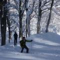 P1050926.JPG -- Enjoyable walking through deep snow