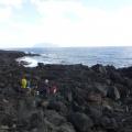 P1060157.JPG -- Crambling over lava rocks