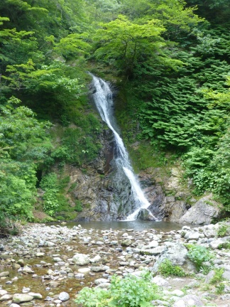Three-snake waterfall 三蛇ヶ滝