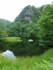 Iozen Nature Park: Mt. Hakoyatani and Tonbi rock 医王山:箱屋谷山とトンビ岩 June 2014