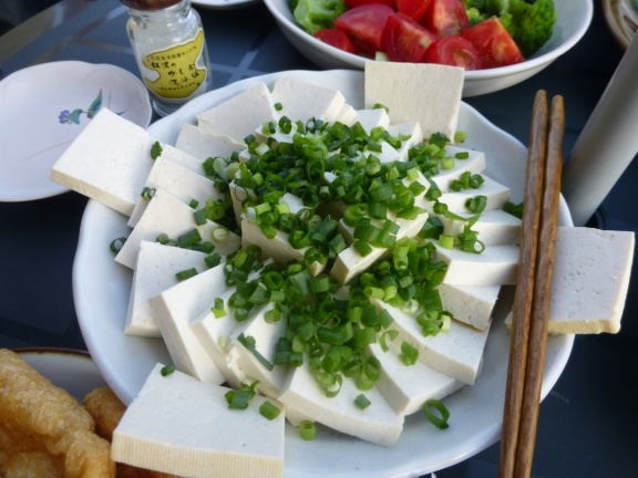 Hard tofu from Shiramine