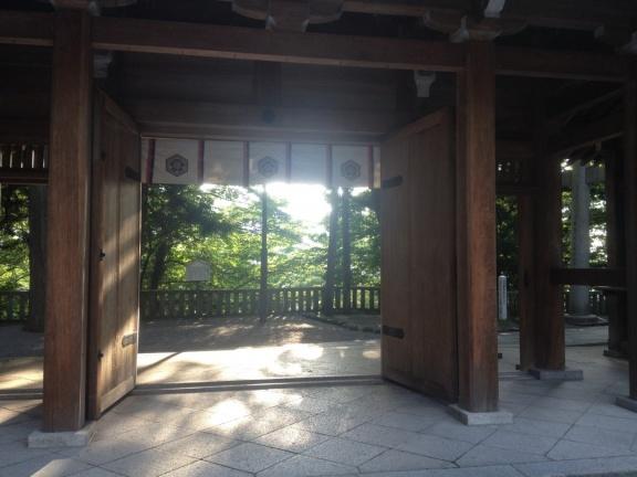 白山比咩神社の御参り