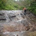 2014-06-28 20140628五箇山美ヶ谷 015.JPG -- Enjoyable creek walking
