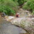 P1060691.JPG -- Masumi enjoying the splash-climbing