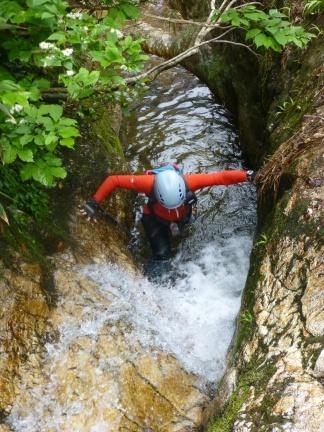 Deep water soloing ;-)