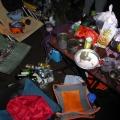 P1000037.JPG -- Evening party, lots of beer, wine, sake, food