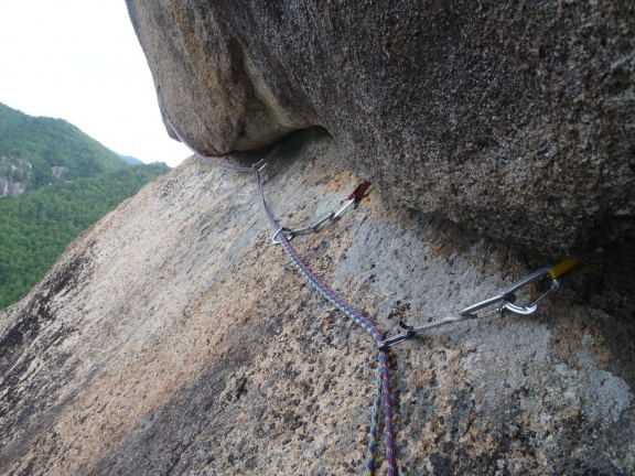 The traverse in the crux of Selection
