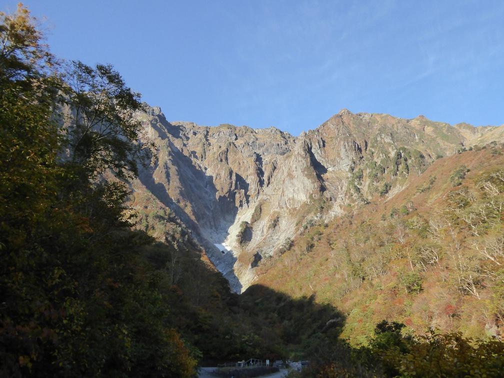 First view on Tanigawadake climbing area