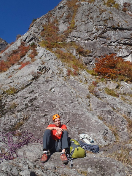 Start of the Middle Ridge 中央稜