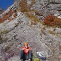 2014-10-20 068.JPG -- Start of the Middle Ridge 中央稜
