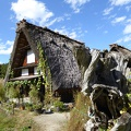 P1000534.JPG -- Traditional house in Shirakawago