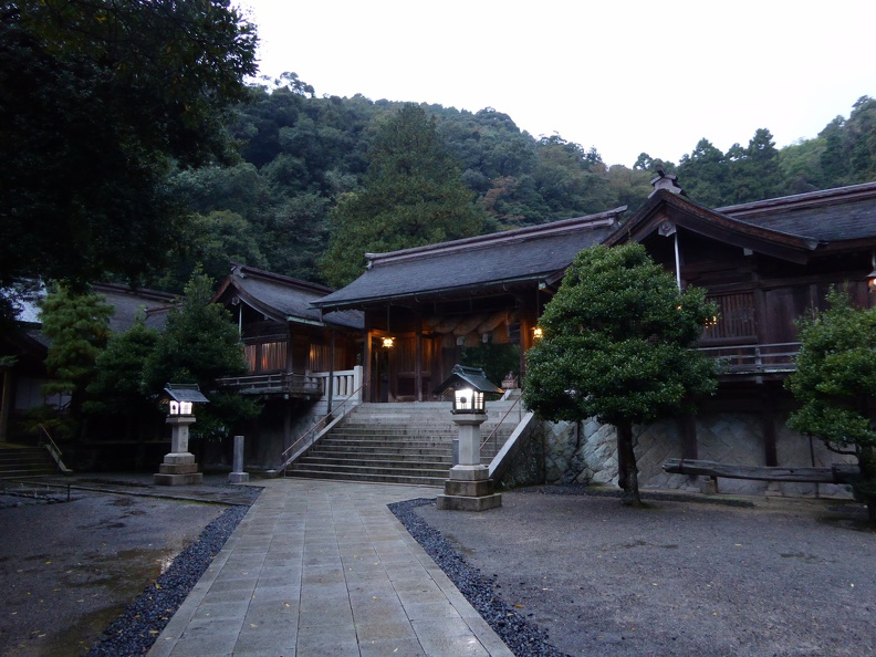 Miho Jinja in the evening