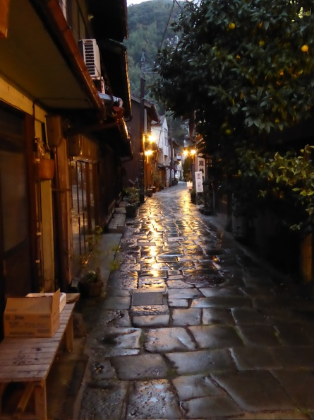 Edo-times like street in Mihonoseki