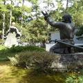 P1000646.JPG -- Monument at Izumotaisha